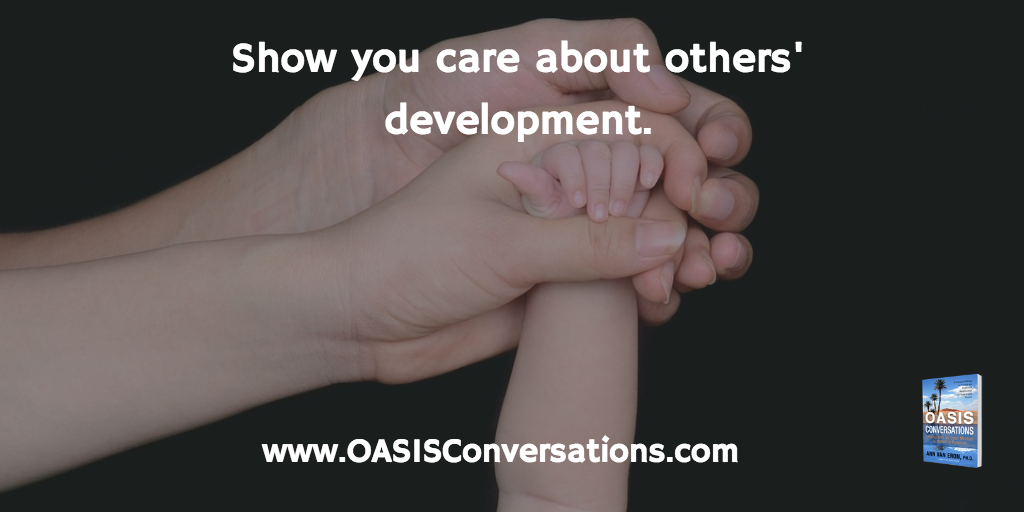 Show You Care About Career Development