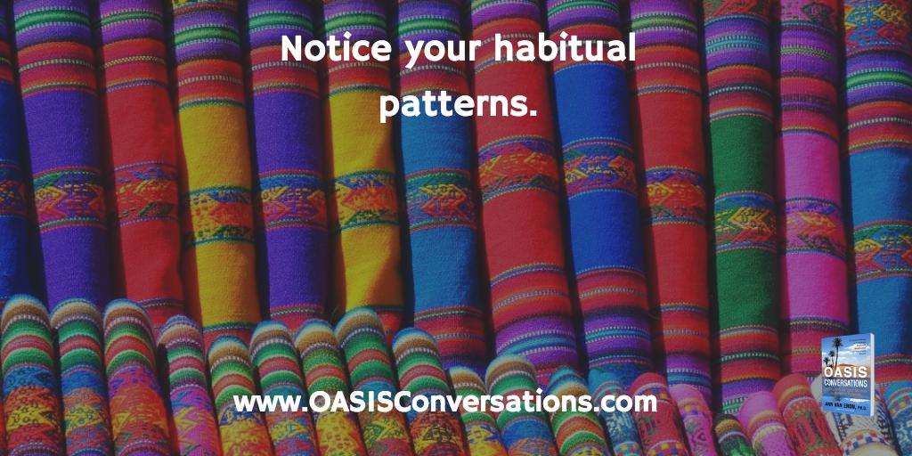 habitual patterns