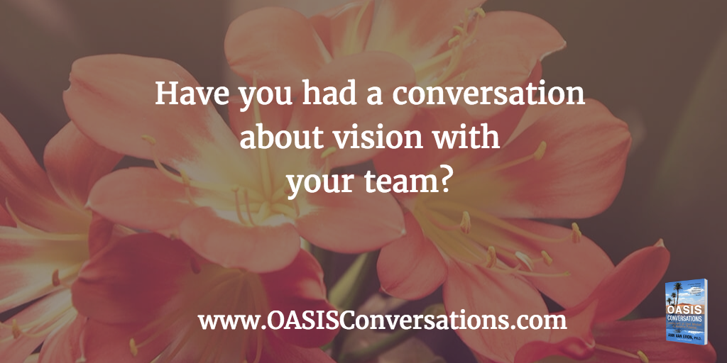 What is the Cost of Not Having a Vision Conversation?