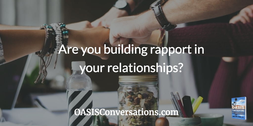 Build rapport to meaningfully connect with others