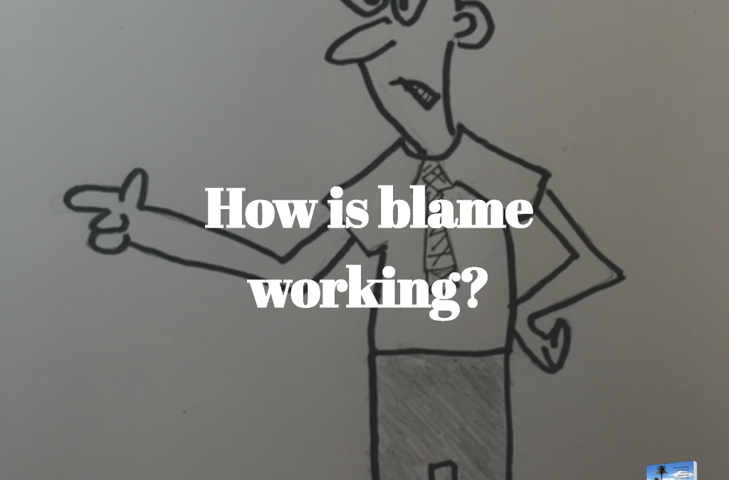 How is Blame Working?