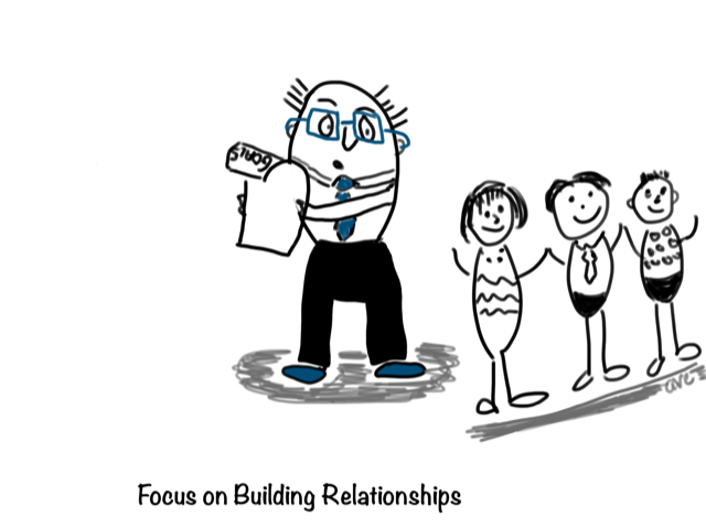 Invest in Building Relationships